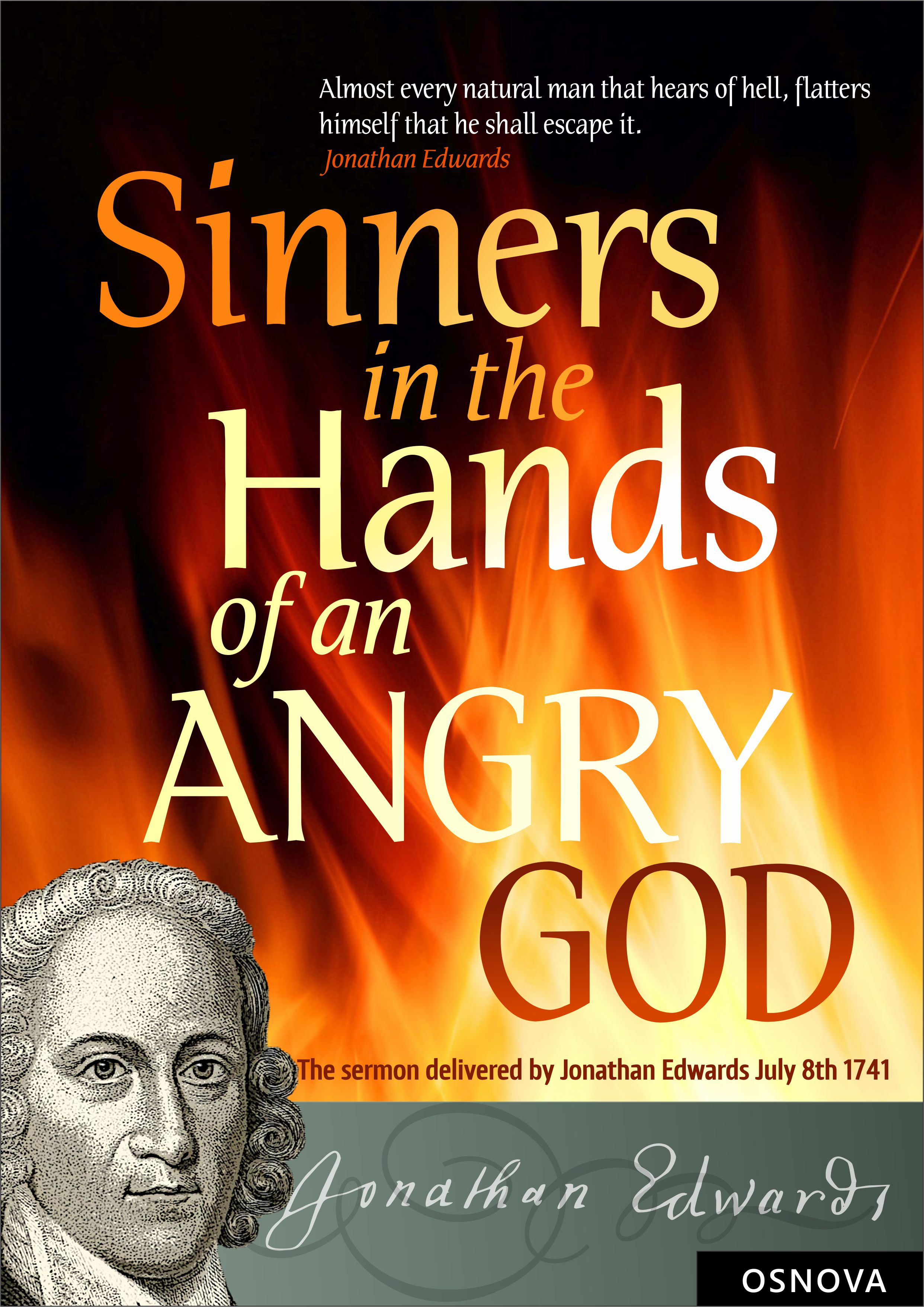 sinners in the hands of an angry god theme