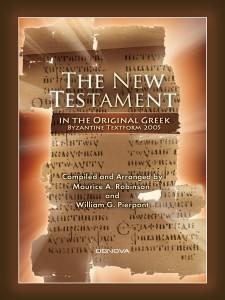 Greek NT Byzantine