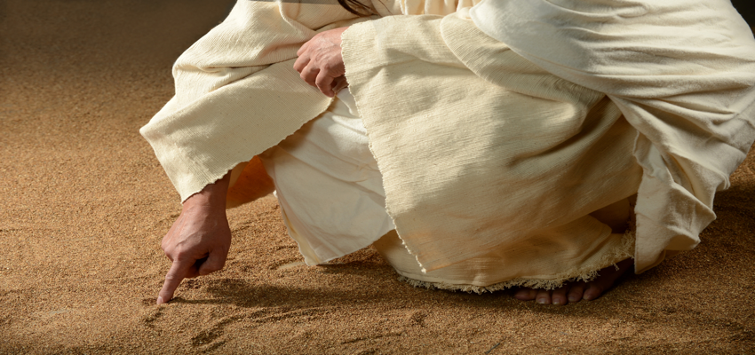 Fr. John Whiteford: Stump the Priest: What did Christ write on the ground?